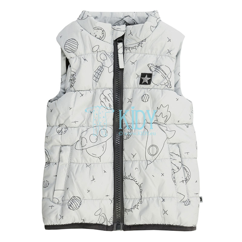 Grey OUTDOOR vest