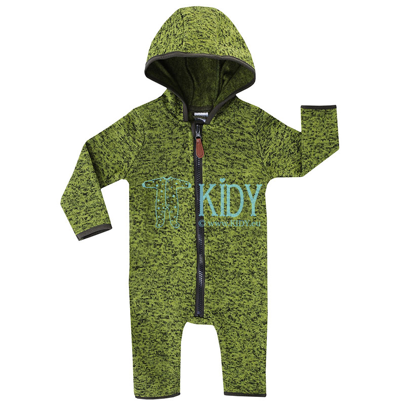 Green fleece OUTDOOR overall