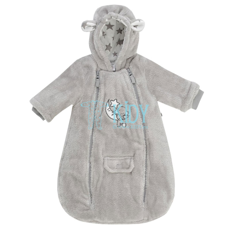 Wadded ELEPHANT sleeping bag with hood and long sleeves