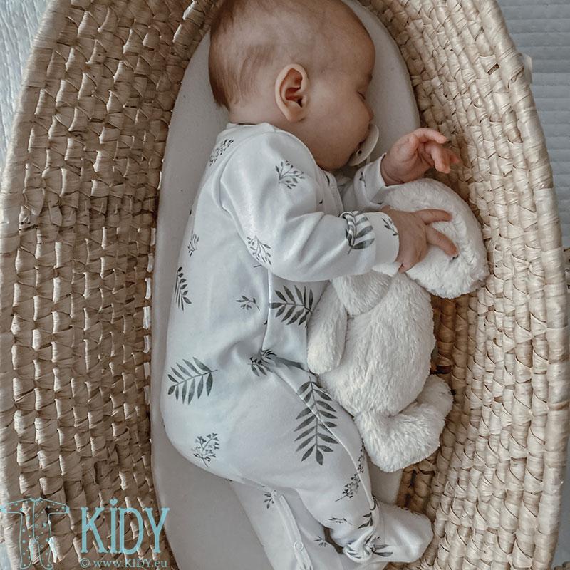 Baltas kombinezonas-pižama GREY LEAVES (YOSOY) 6