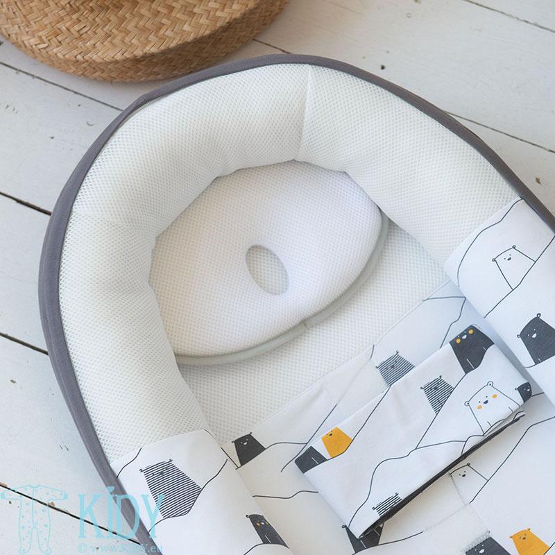 Newborn Pillow Anti Flat Head (Doomoo) 6