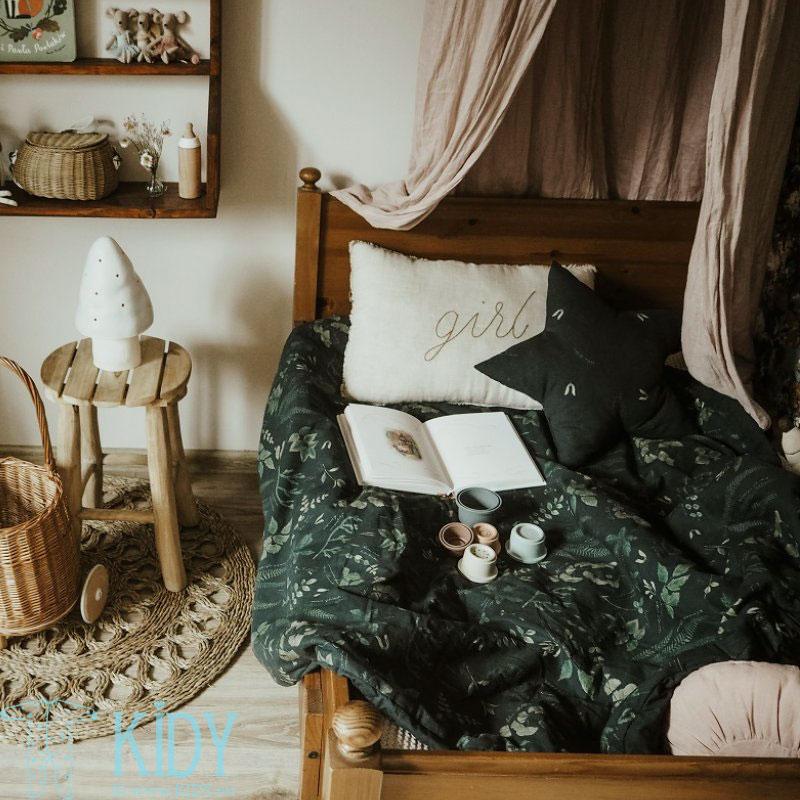 Patalynės komplektas Herbarium: antklodė + pagalvė (MAKASZKA) 6