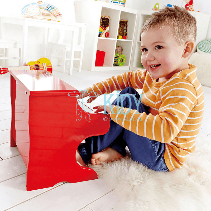 Red PLAYFUL PIANO (Hape) 6