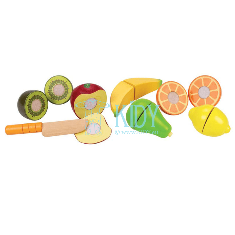 Žaislinis rinkinys Švieži vaisiai FRESH FRUIT (Hape) 6
