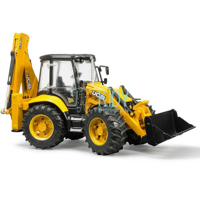 Traktorius su krautuvu JCB 5CX eco Backhoe (BRUDER) 6