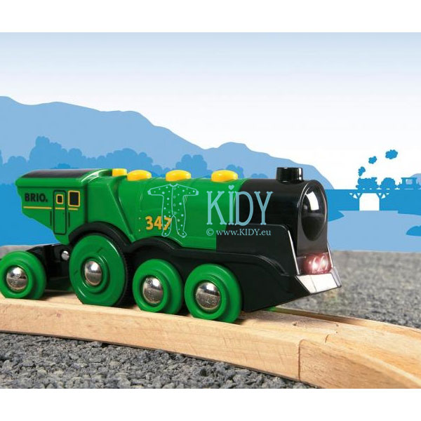 Big Green Action Locomotive (Brio) 6