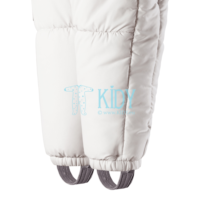 White FOX winter overall transformer with anti-scratch mitts (Lassie by Reima) 6