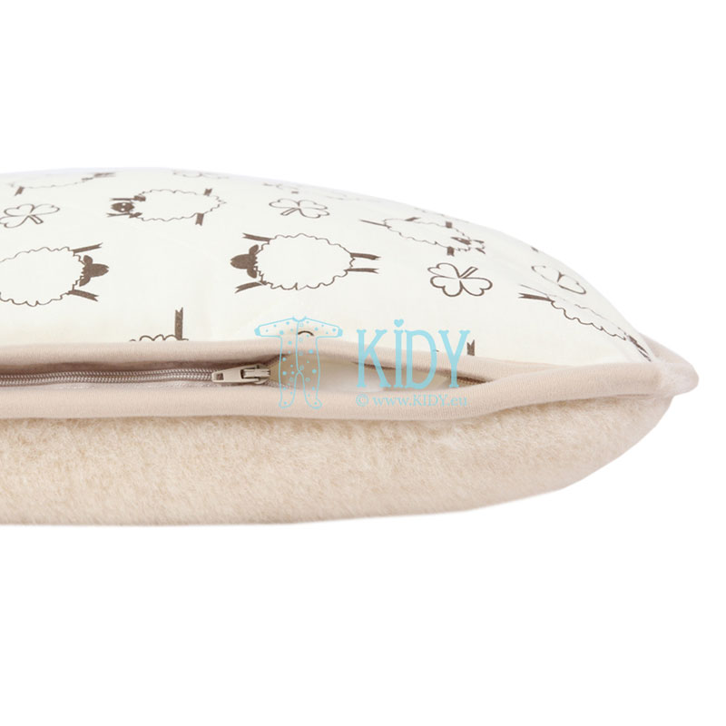Double-sided MOKA pillow (Flokati) 6