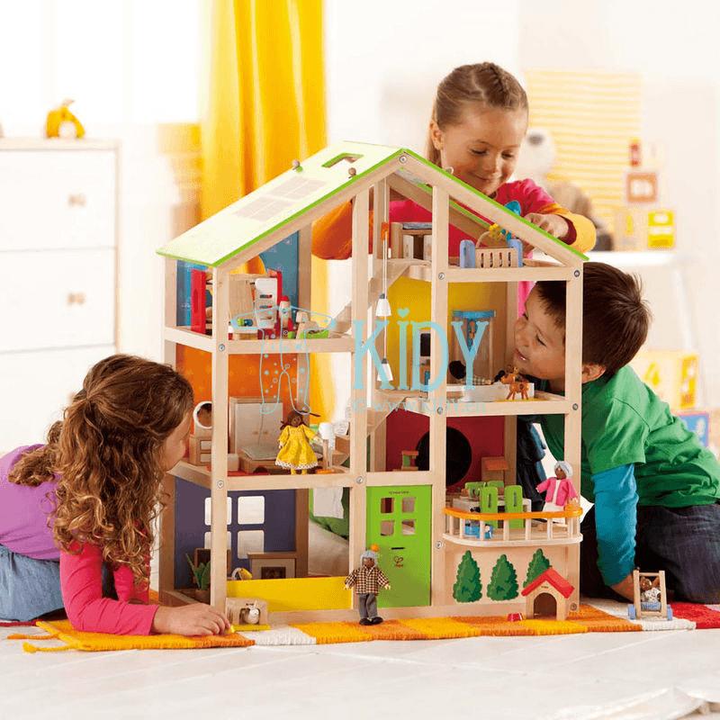 Деревянный игрушечный домик для кукол (Hape) 6