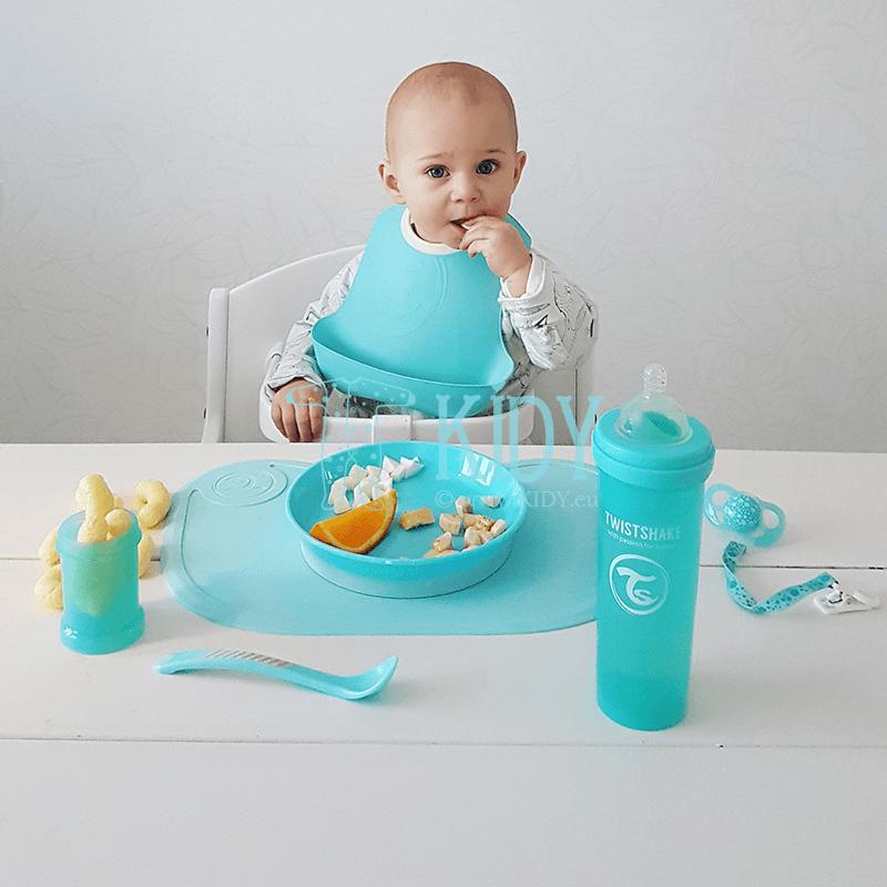 Голубая бутылочка для кормления ANTI-COLIC (Twistshake) 6