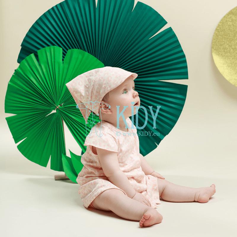 Розовое платьице SWEET PANTHER с короткими рукавами (Pinokio) 6