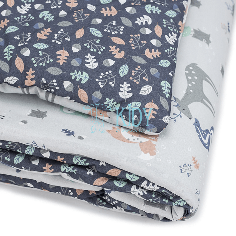 Patalynės komplektas Woodland: antklodė + pagalvė (MAKASZKA) 6