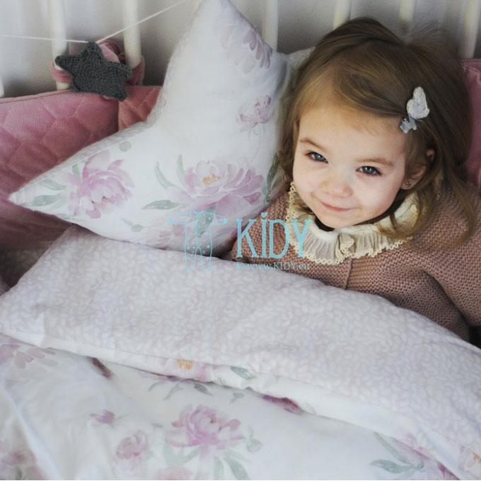Patalynės komplektas Peonie: antklodė + pagalvė (MAKASZKA) 6