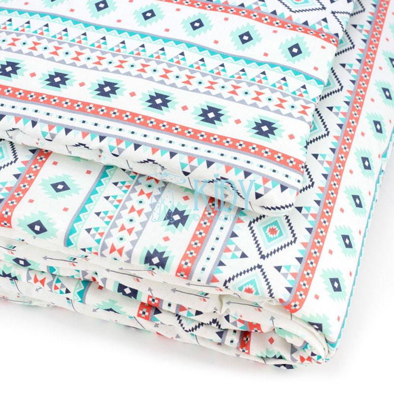 Patalynės komplektas Aztec: antklodė + pagalvė (MAKASZKA) 6