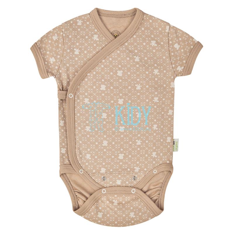 9 pcs brown ORGANIC unisex baby layette set for newborns (BIO Baby) 6