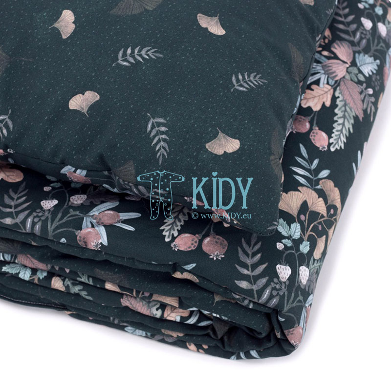 Bedding Secret Garden set: duvlet + pillow (MAKASZKA) 6