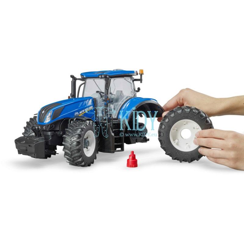 Traktorius su krautuvu New Holland T7.3315 (BRUDER) 6
