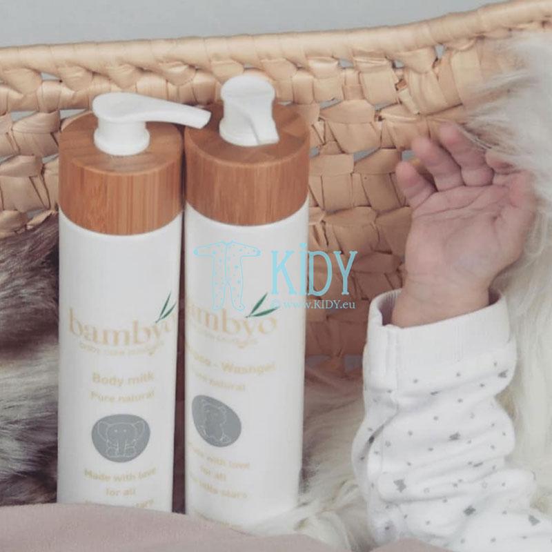 Naturalus šampūnas ir kūno prausiklis Bambyo (Baby Organic Star) 6