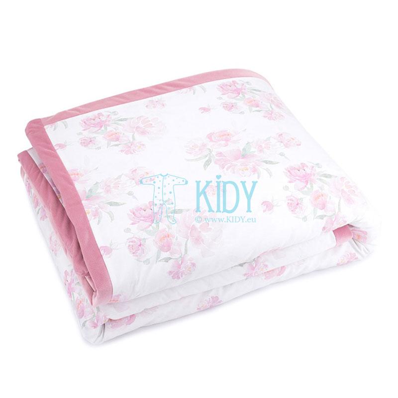 Rožinė antklodė Peonie (MAKASZKA) 6