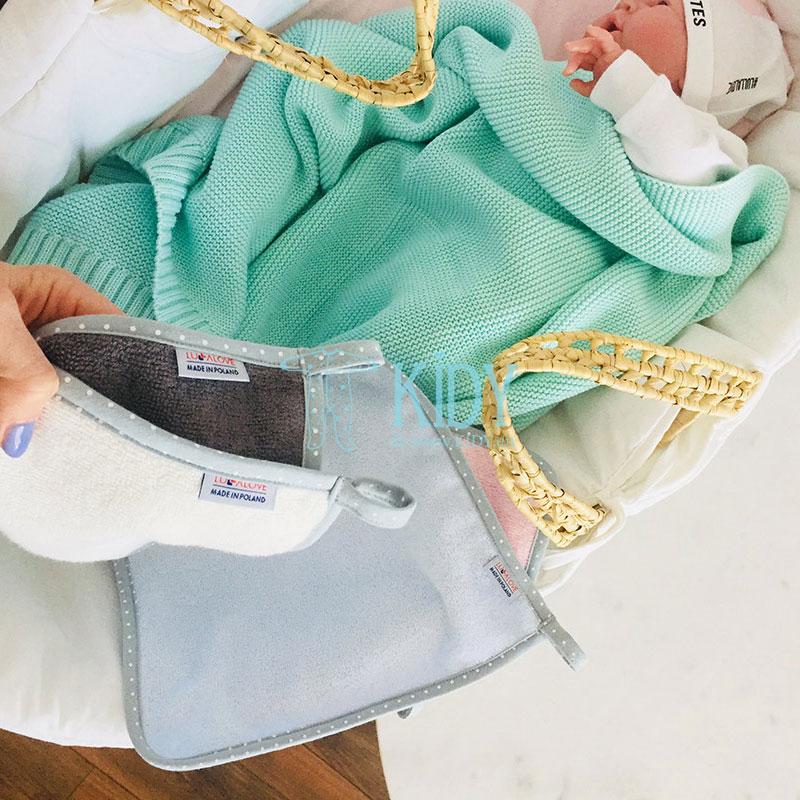 Mėlynas rankšluosčių rinkinys supeRRO (Lullalove) 6