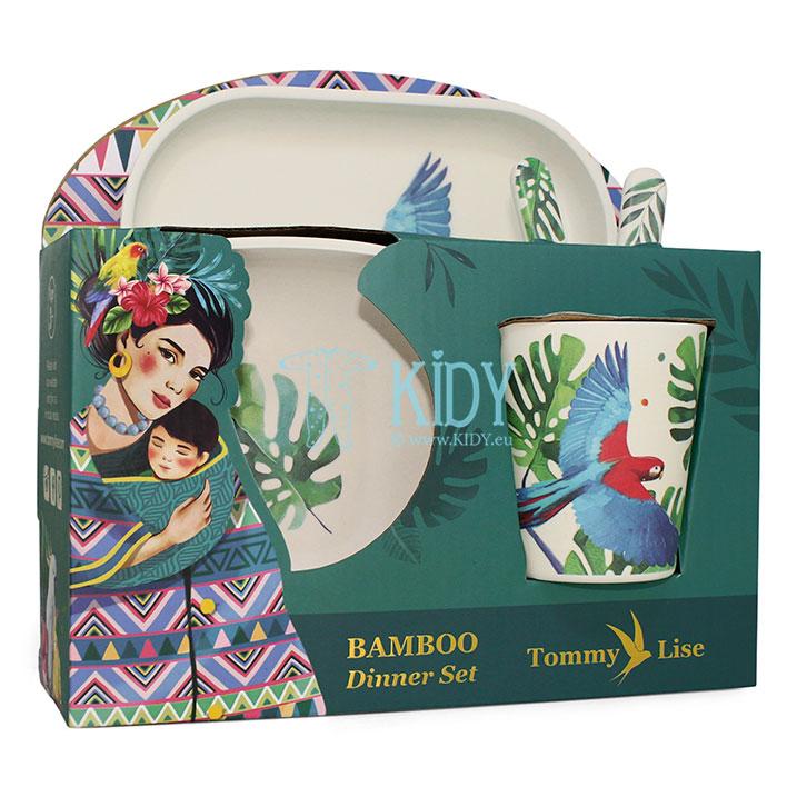 Bambukinių indų rinkinys Feathery Mood (Tommy Lise) 6