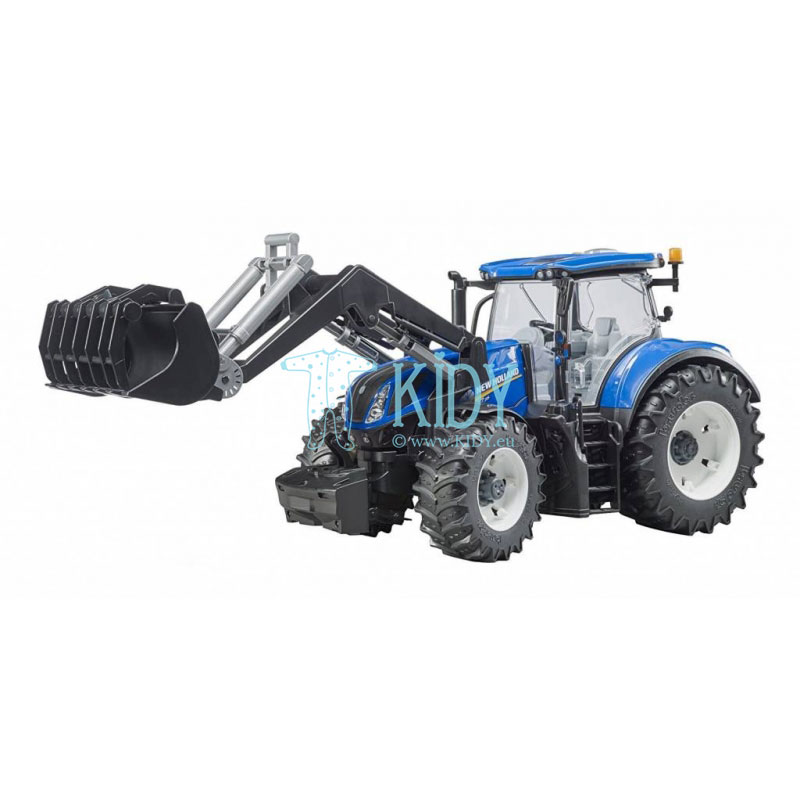 New Holland T7.315 with slip-on front loader