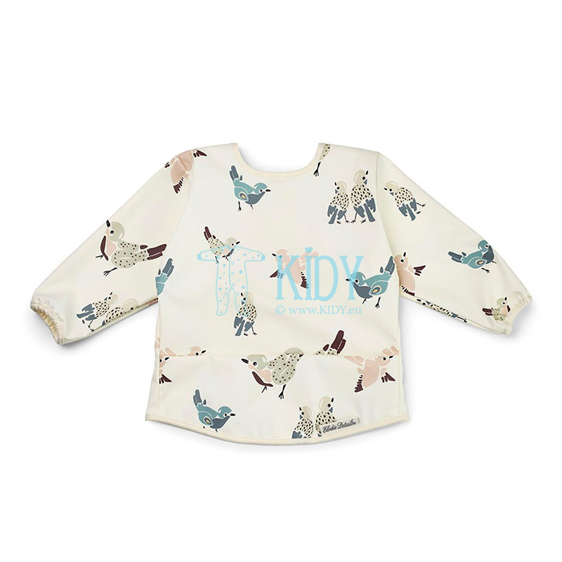 Longsleeved FEATHERED FRIENDS bib