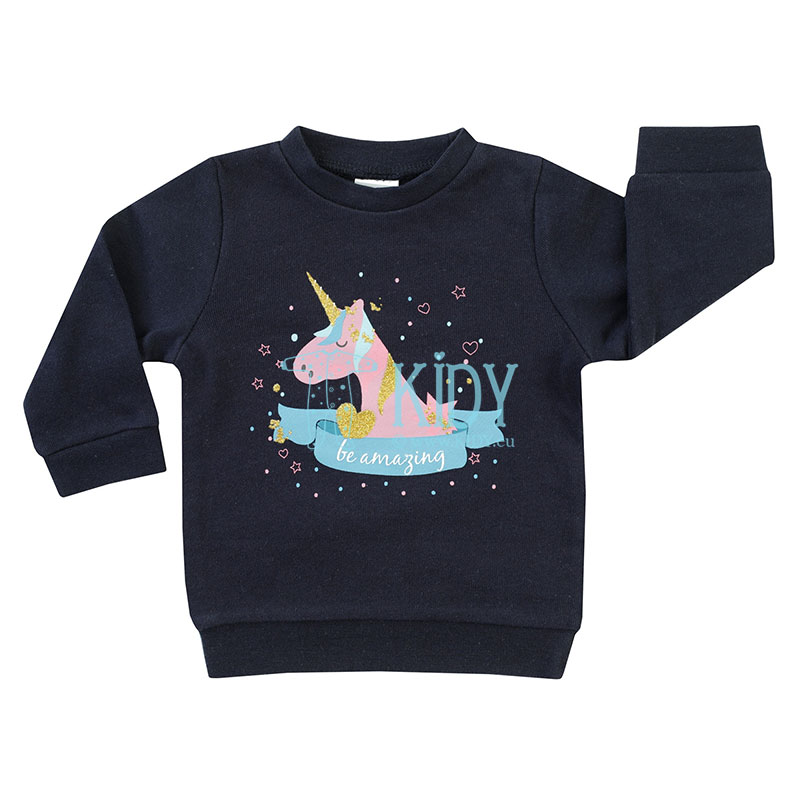 Navy BE AMAZING sweatshirt