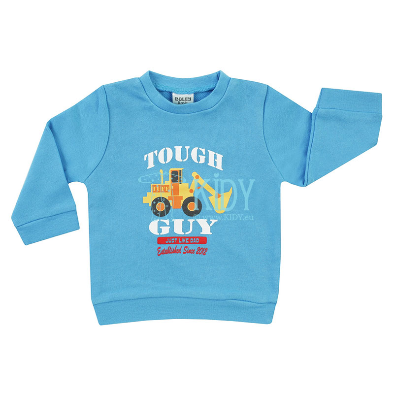 Blue TOUGH GUY sweatshirt