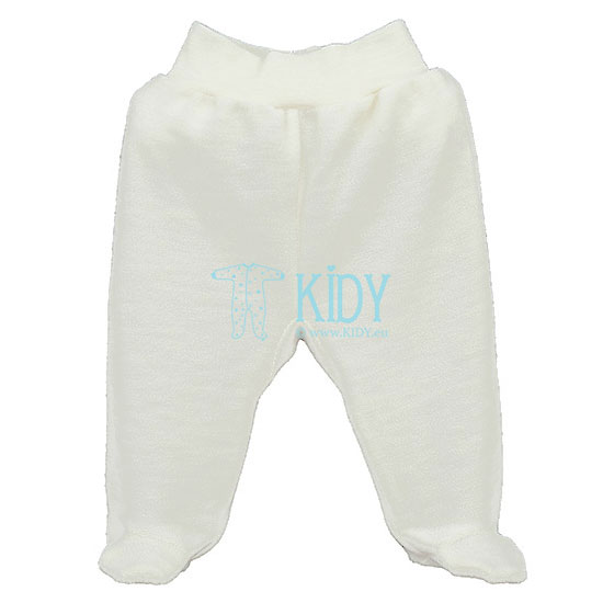 Creamy LOLLY LAMB footed pants (Lorita)