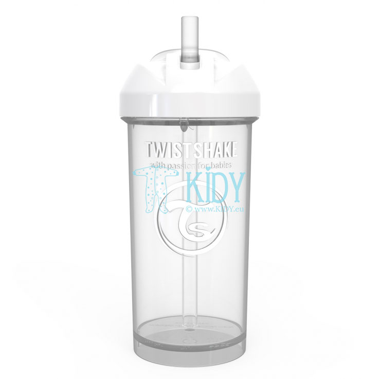 White SIPPY CUP STRAW