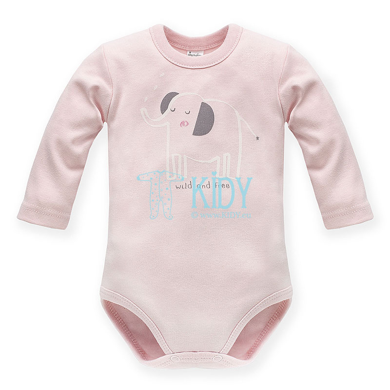 Pink WILD ANIMALS bodysuit