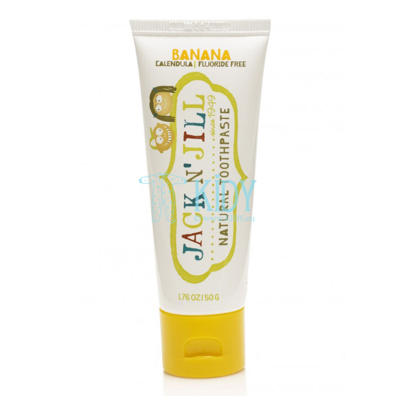 Natural Banana Toothpaste