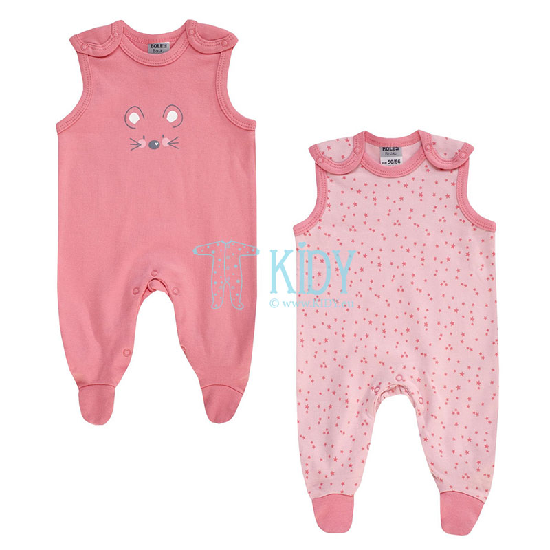 2pcs MOUSE dungaree set