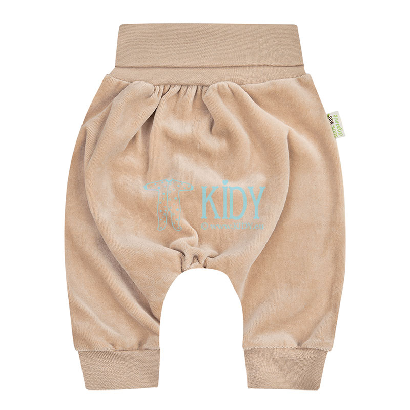 Brown velour ORGANIC pants