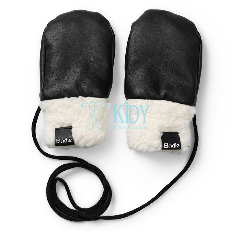 Black AVIATOR BLACK mittens