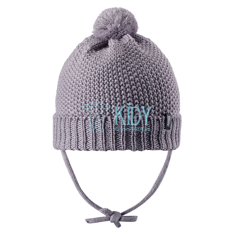Grey NOMI wool hat