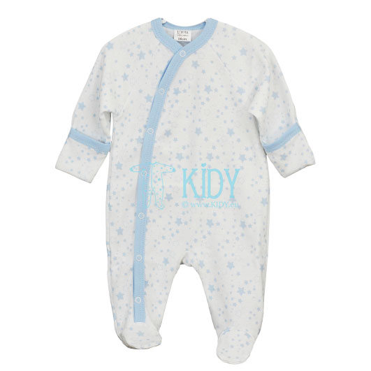 White PIMKY sleepsuit