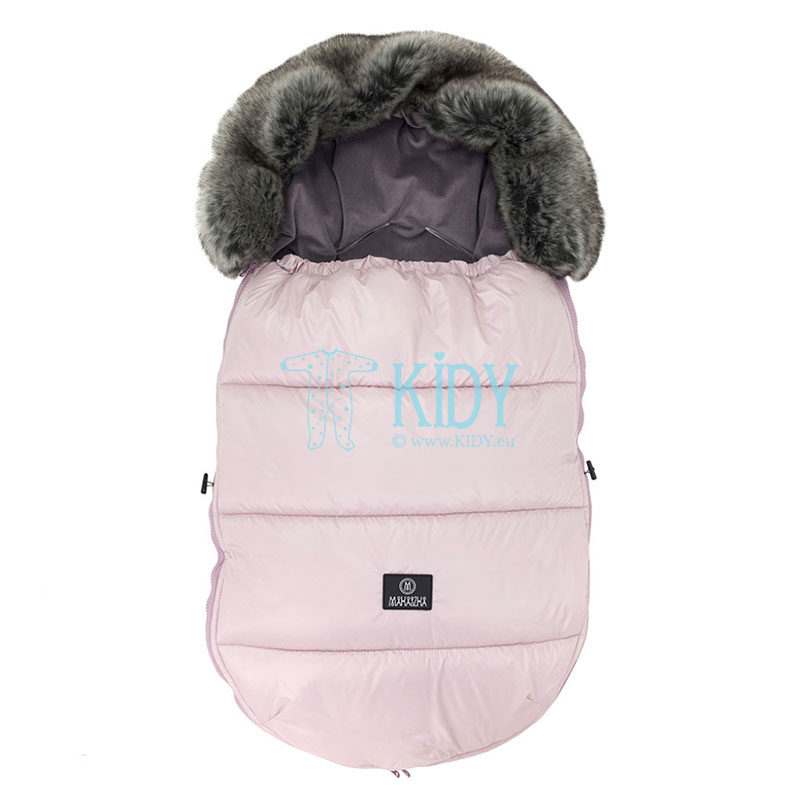 Powder Pink stroller bag
