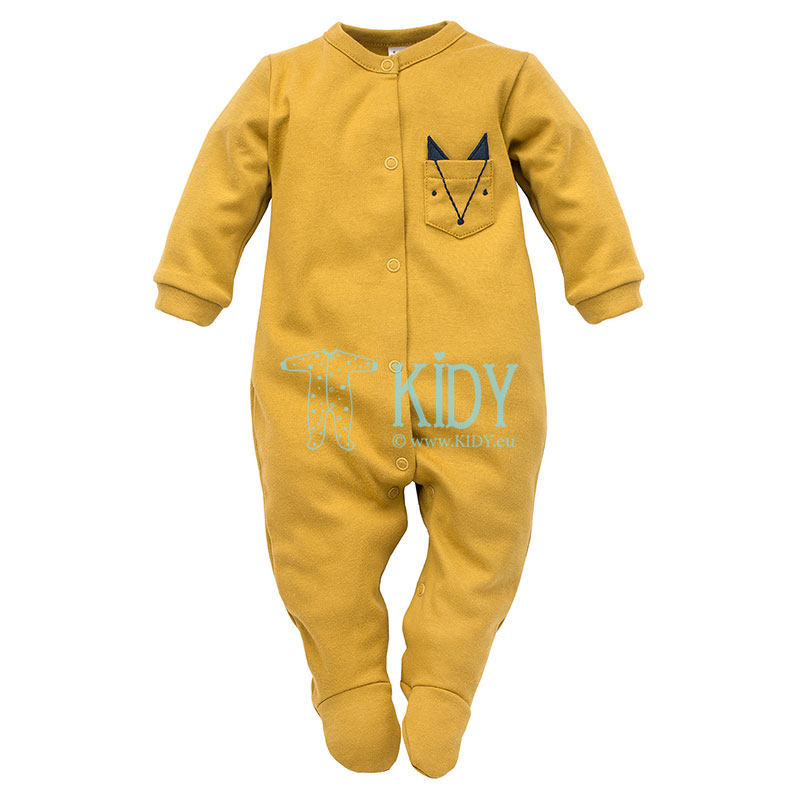 Curry SECRET FOREST sleepsuit
