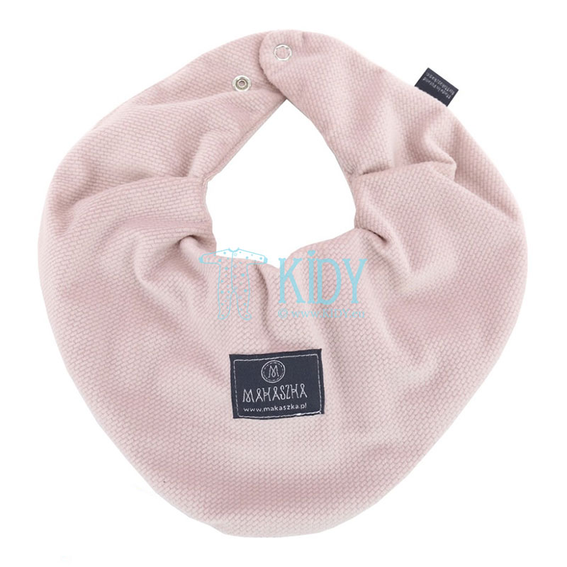 Розовый двусторонний шарф-бандана Angielski róż