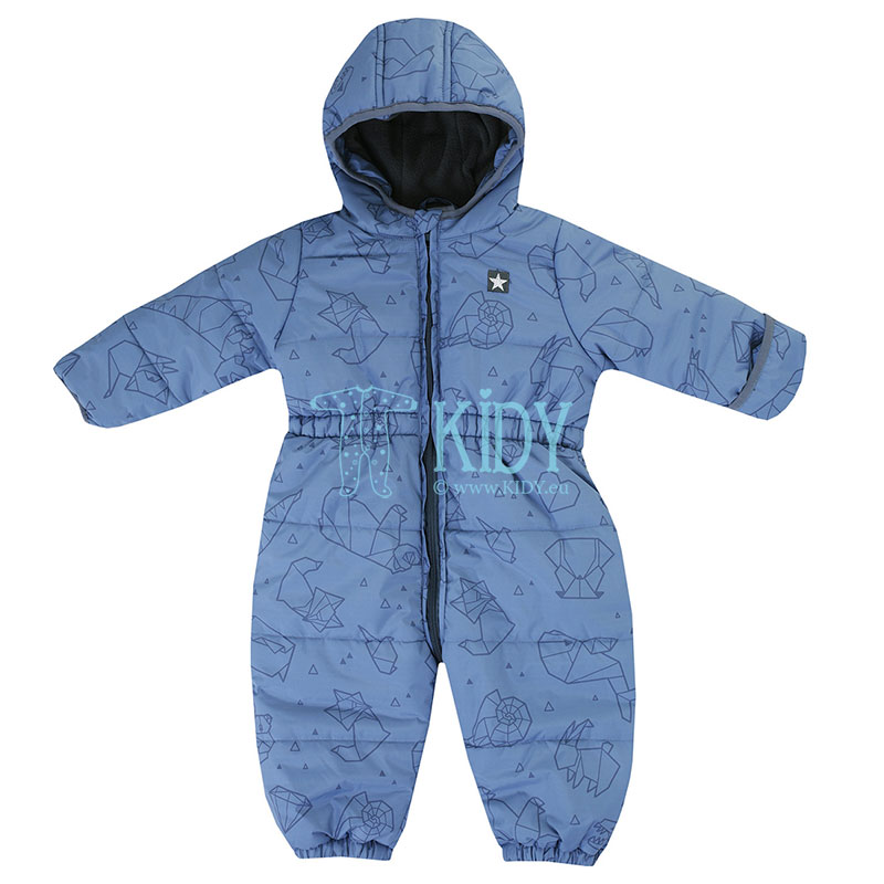 Blue OUTDOOR snowsuit
