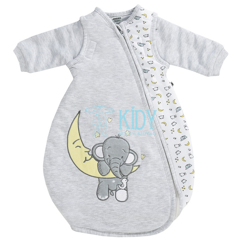 Wadded (120gsm) ELEPHANT sleeping bag with detachable sleeves