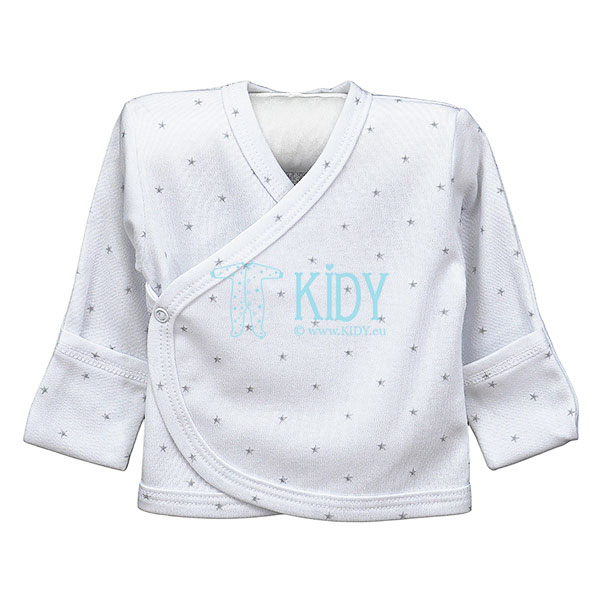 White SNUBY easy-shirt with mitts