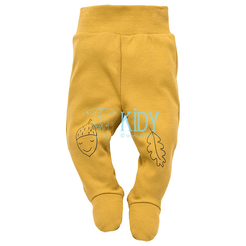 Curry SECRET FOREST footed pants