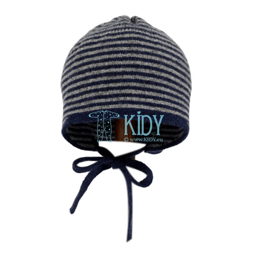 Grey MERINO wool cap