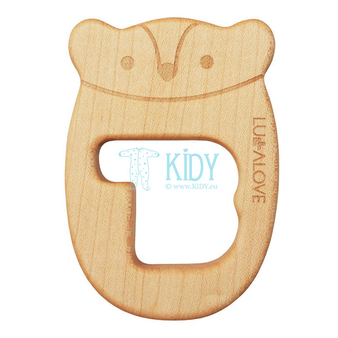 Wooden MR B teether
