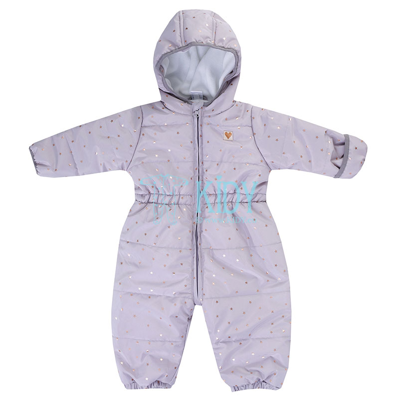 Purple OUTDOOR snowsuit
