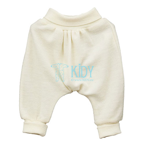 Creamy merino wool LOLLY LAMB pants