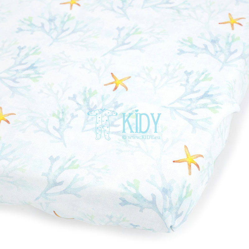 Blue Ocean fitted sheet